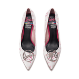 BARBIE 60th Anniversary X HOA PUMP 5418 - House of Avenues - Designer Shoes Online