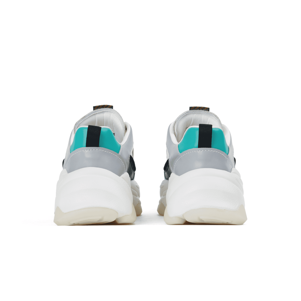Ladies Color Block Chunky Sneaker 5519 White - House of Avenues - Designer Shoes | 香港 | 女鞋 House of Avenues
