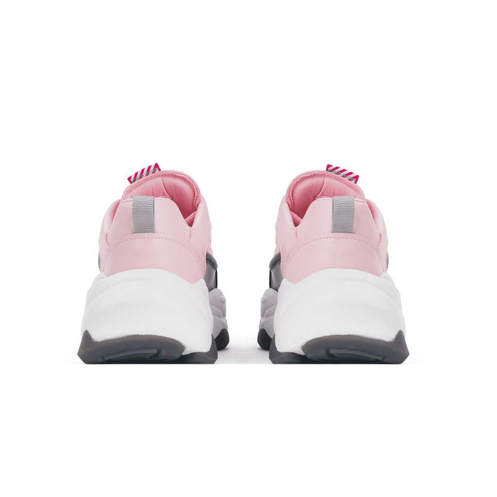 Ladies Color Block Fashion Sneaker 5519 Pink - House of Avenues - Designer Shoes | 香港 | 女鞋 House of Avenues