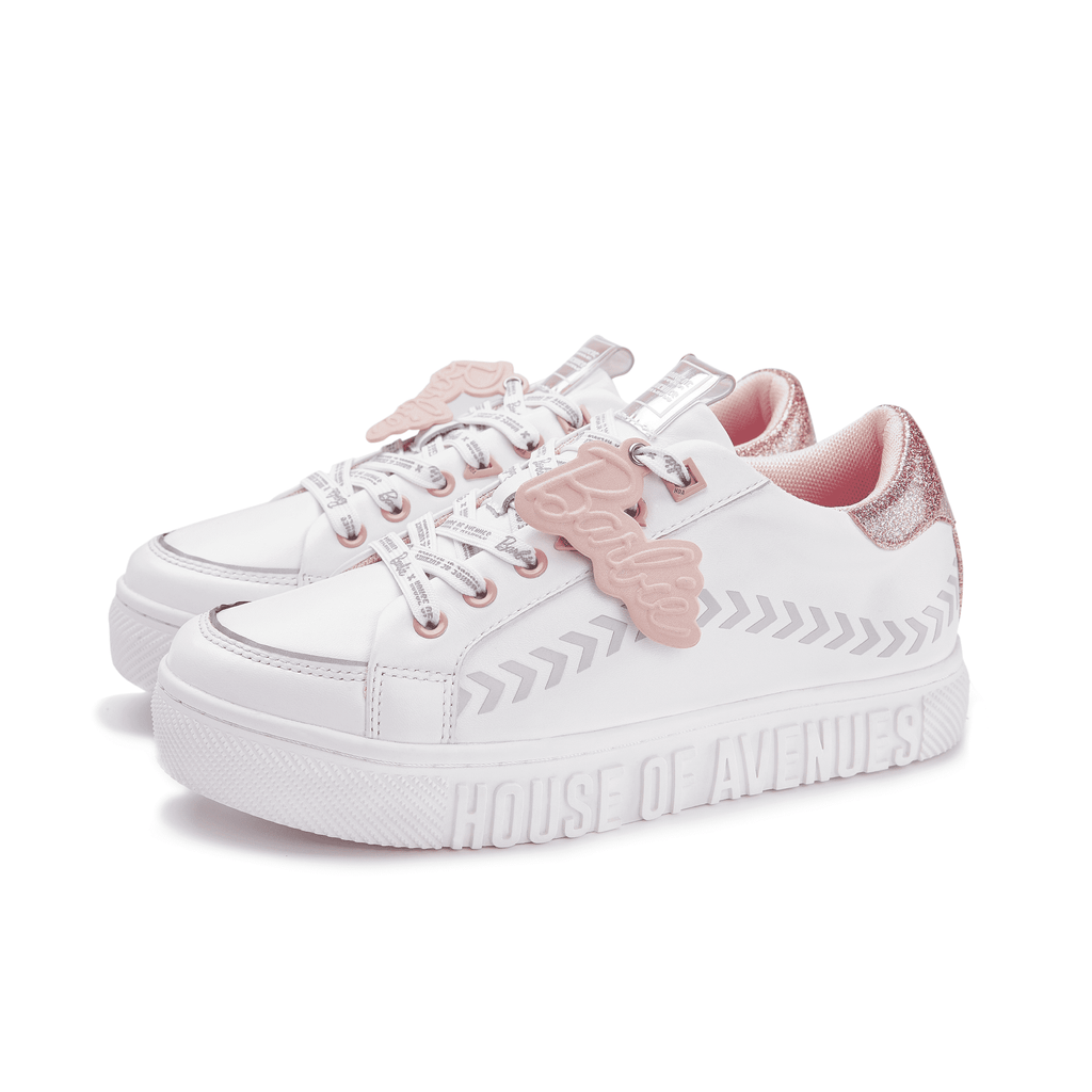 Barbie x House Of Avenues Ladies' Lace Up Flat Sneaker 5527 - House of Avenues - Designer Shoes Online 香港女鞋網店