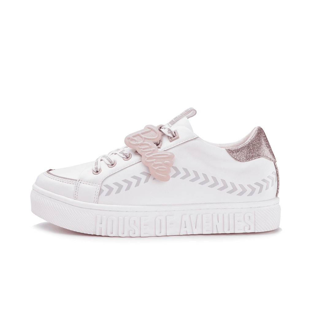 Barbie x House Of Avenues Ladies' Lace Up Flat Sneaker 5527 - House of Avenues - Designer Shoes Online