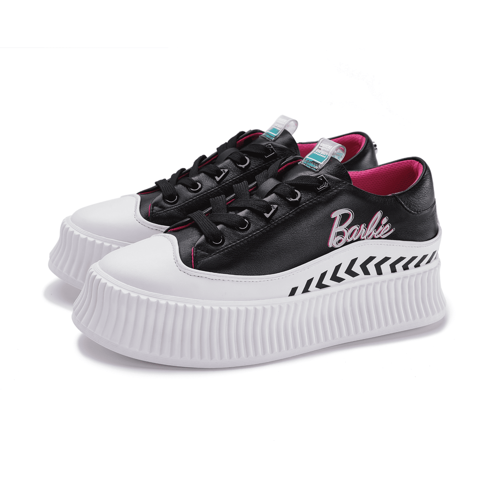 Barbie x House Of Avenues Ladies Platform Sneaker 5530 Black - House of Avenues - Designer Shoes Online 香港女鞋網店