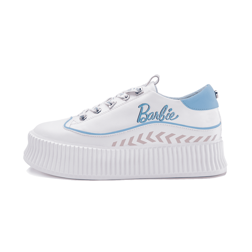 Barbie x House Of Avenues Ladies Platform Sneaker 5530 White - House of Avenues - Designer Shoes Online 香港女鞋網店