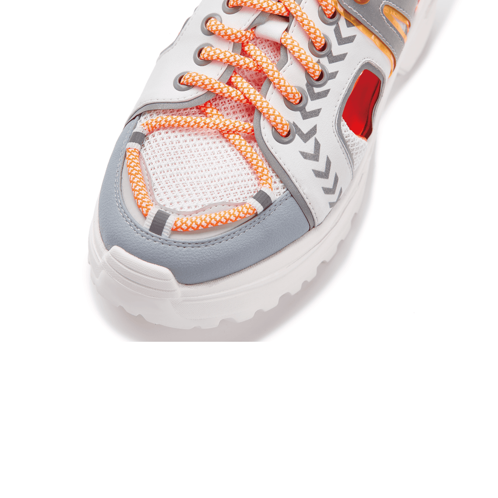Ladies Neon Cut Out Sneaker 5535 Orange - House of Avenues - Designer Shoes | 香港 | 女鞋 House of Avenues