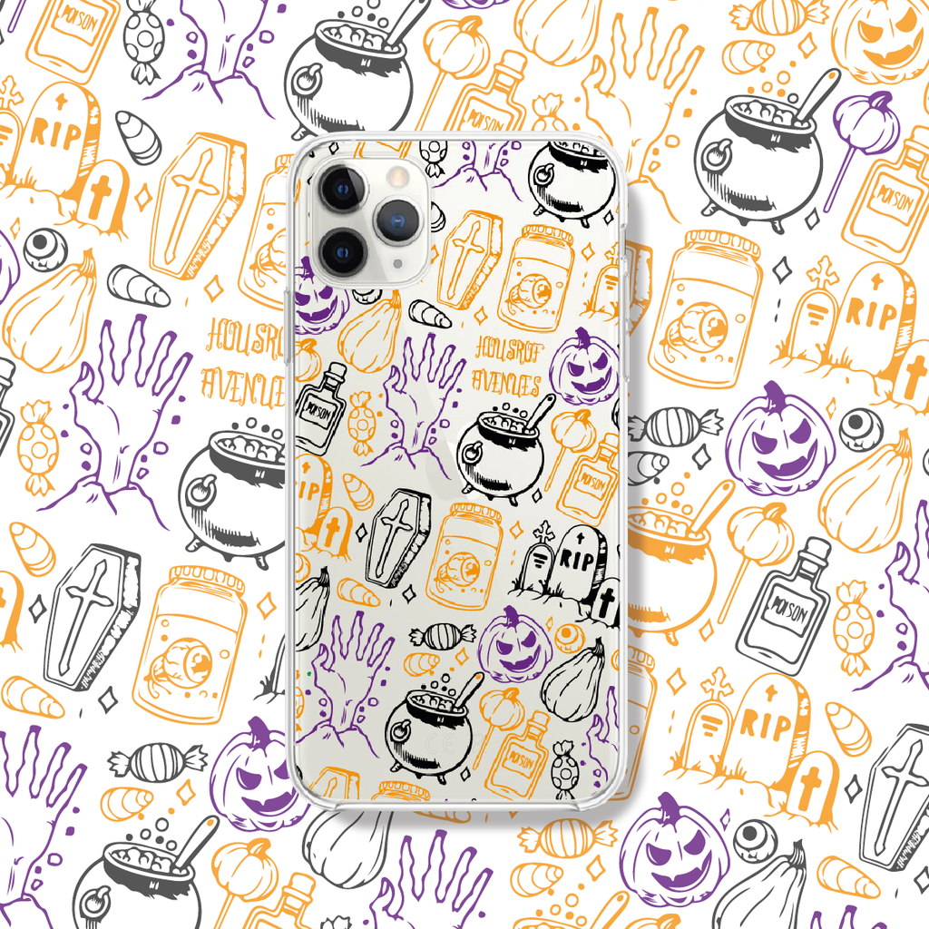 Original Design Phone Case - Halloween - Style F - House of Avenues - Designer Shoes Online 香港女鞋網店