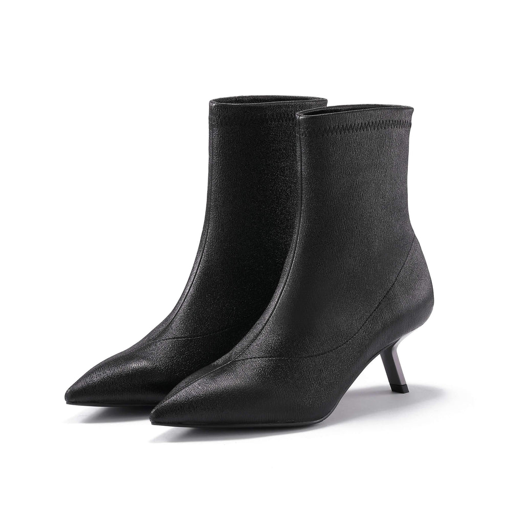 STRETCH LEATHER BOOTIE 5177 - House of Avenues - Designer Shoes | 香港 | 女鞋 House of Avenues