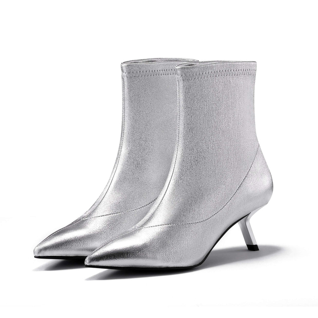 STRETCH LEATHER BOOTIE 5177 - House of Avenues - Designer Shoes Online 香港女鞋網店