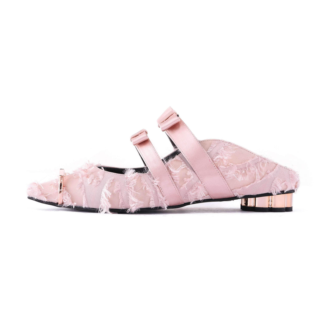 STREET SMART FLUFFY MULE SANDAL 5074 - House of Avenues - Designer Shoes Online