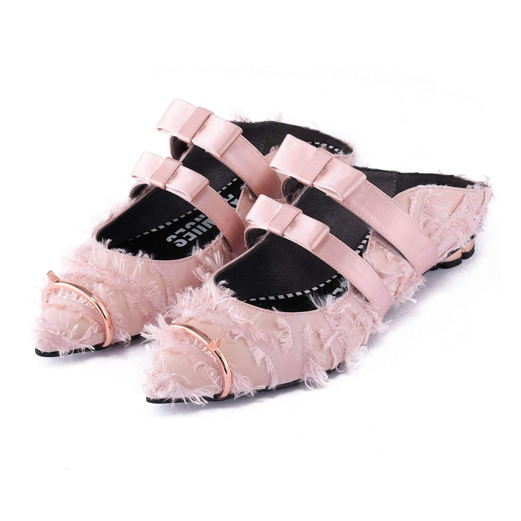 Ladies Fluffy Mule Sandal 5074 - House of Avenues - Designer Shoes | 香港 | 女鞋 House of Avenues