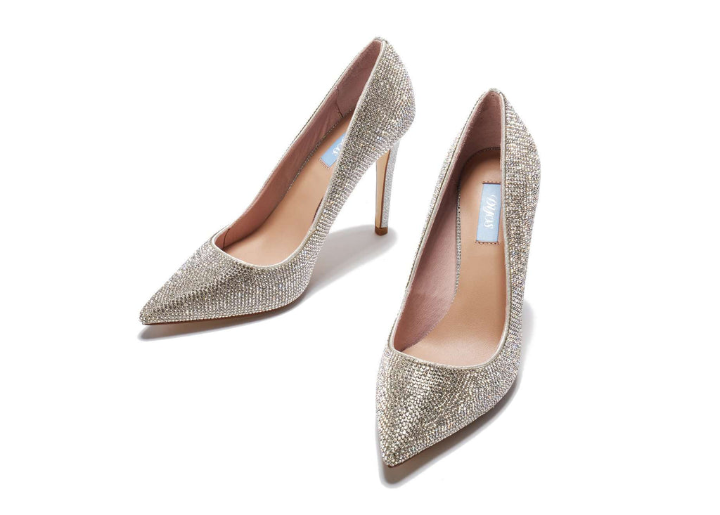 Evelyn Pumps 101022 (Silver) - House of Avenues - Designer Shoes | 香港 | 女鞋 House of Avenues