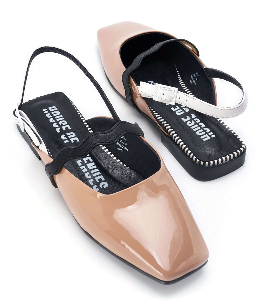 POWER POSE SLINGBACK FLAT 5265 - House of Avenues - Designer Shoes Online