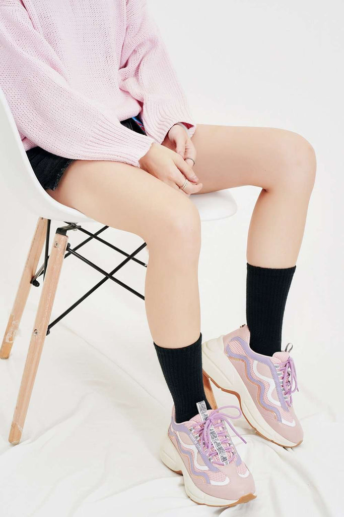 SPONGEBOB x HOA Pink Chunky Sneaker 5102 Pink - House of Avenues - Designer Shoes | 香港 | 女鞋 House of Avenues