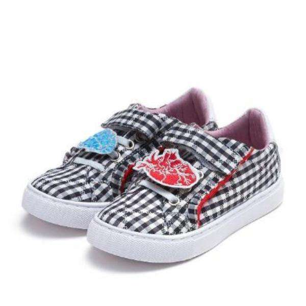 ZIZTAR X HOA CHECK KIDS SNEAKER 4388 - House of Avenues - Designer Shoes Online