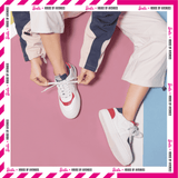 Barbie Women's Sneaker White Board Lace Up Tennis Shoes 5528バービーxHOA 第2弾テニス スタイル・スニーカー