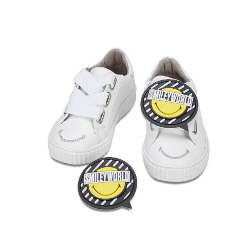 Smiley x HOA Kids Sneaker 4312 - House of Avenues - Designer Shoes Online