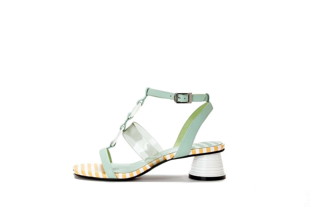 Ladies' Marine Style Heel Sandal 5447 - House of Avenues - Designer Shoes | 香港 | 女鞋 House of Avenues