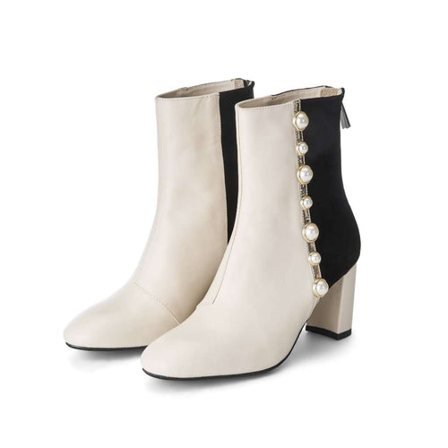 TEEN QUEEN RUFFLE HEART BOOTIE