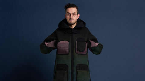 byborre aw18 on-pattern edition sweater c4 olive on body