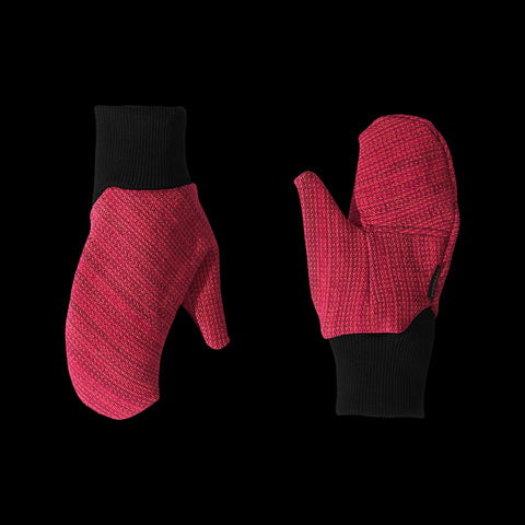 BYBORRE mitten aw19 the layered edition coral