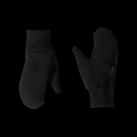 BYBORRE mitten aw19 the layered edition soot black