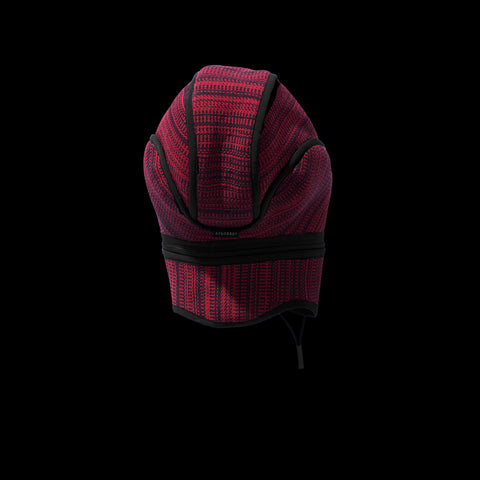 BYBORRE cap aw19 the layered edition deep red graphite back