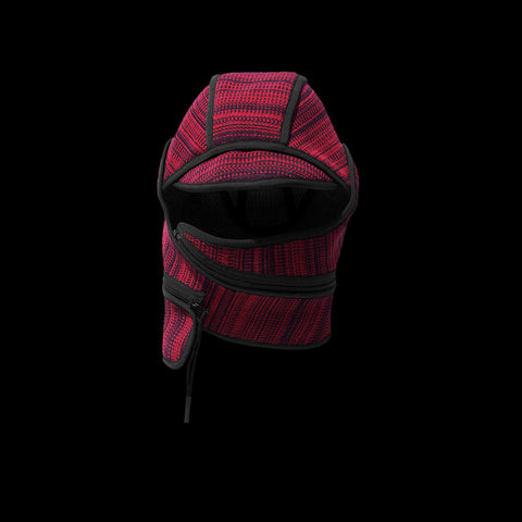 BYBORRE cap aw19 the layered edition deep red graphite front