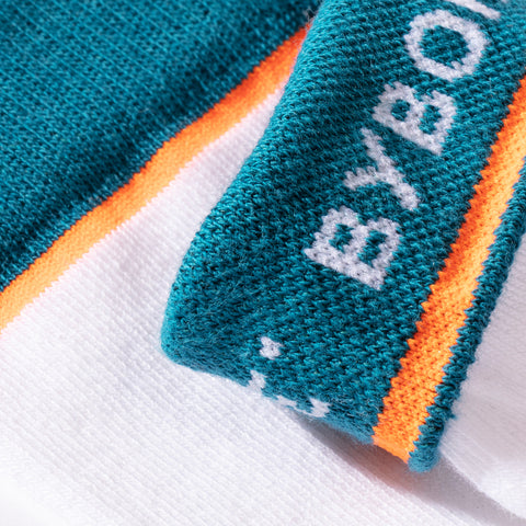 BYBORRE cotton socks aw19 the layered edition white detail