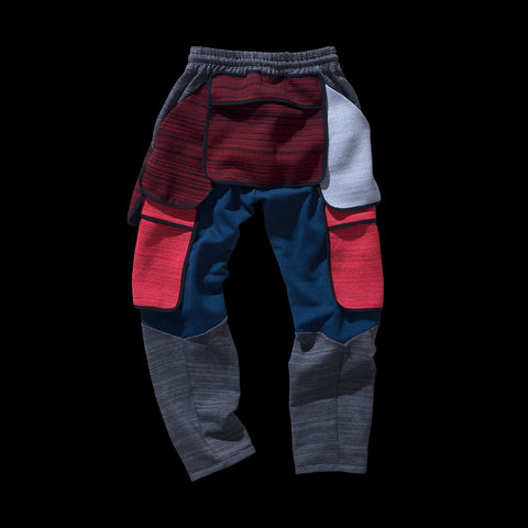 BYBORRE PM pants aw19 the layered edition multicolor back
