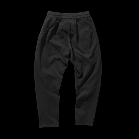 BYBORRE pants aw19 the layered edition soot black back