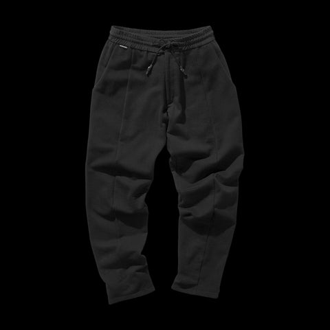 BYBORRE pants aw19 the layered edition soot black front