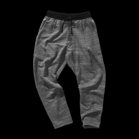 BYBORRE pants aw19 the layered edition graphite front