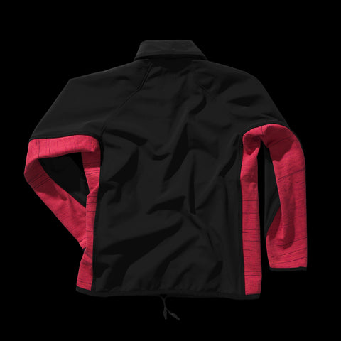 BYBORRE c jacket aw19 the layered edition gore tex black coral back