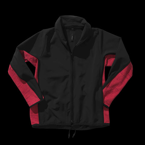 BYBORRE c jacket aw19 the layered edition gore tex black coral front