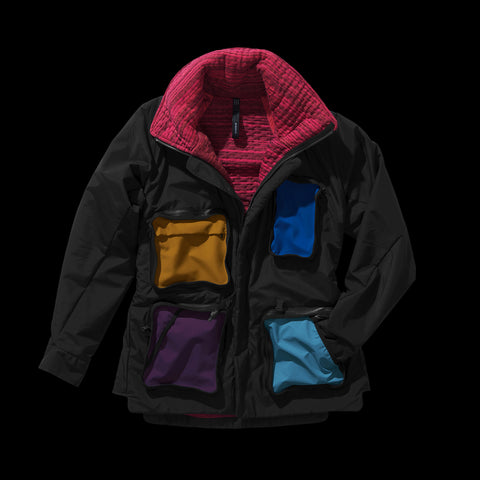 BYBORRE field jacket aw19 the layered edition gore tex multicolor front