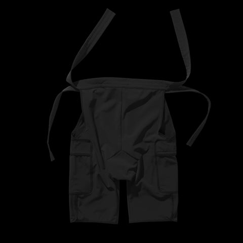 BYBORRE overpants aw19 the layered edition gore tex black back