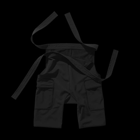 BYBORRE overpants aw19 the layered edition gore tex black front