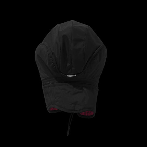BYBORRE cap aw19 the layered edition gore tex black coral back