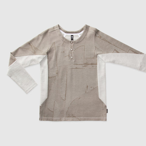 HENLEY LONG SLEEVE T-SHIRT | E7-FU-352-952