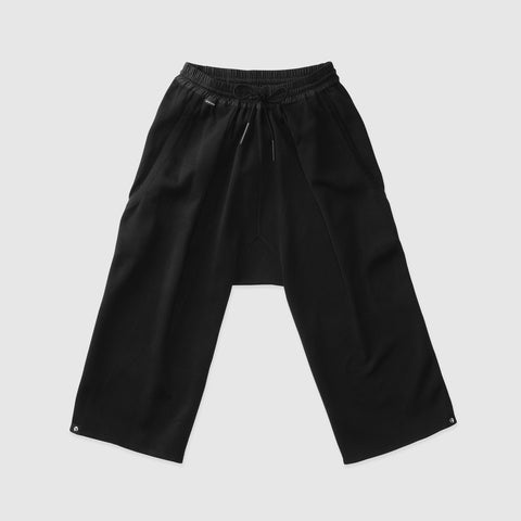PLEATED CROPPED PANTS | E7-EX-656-000