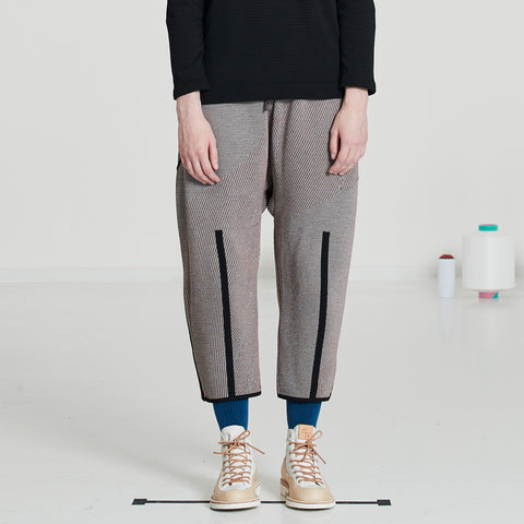 TAPERED CROPPED PANTS MERINO | E7-FU-653-210