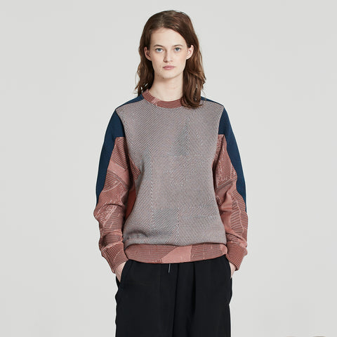 WEIGHTMAP SWEATER MERINO | E7-FU-520-999