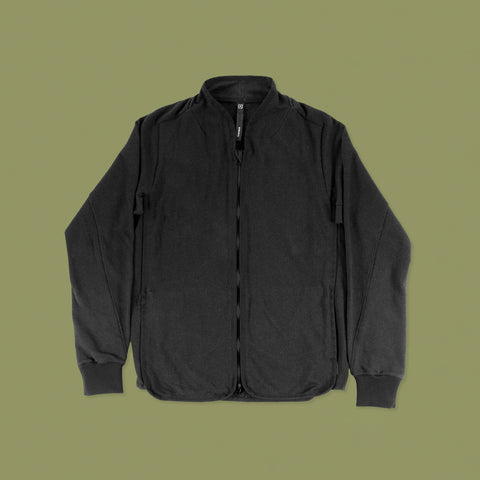 BYBORRE ss19 the hybrid edition f1 jacket black front
