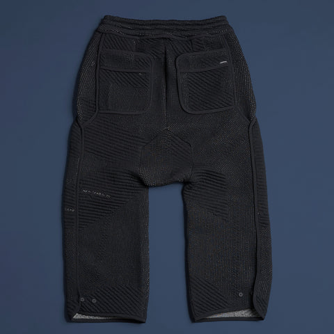 byborre long shorts b4 aw18 black back