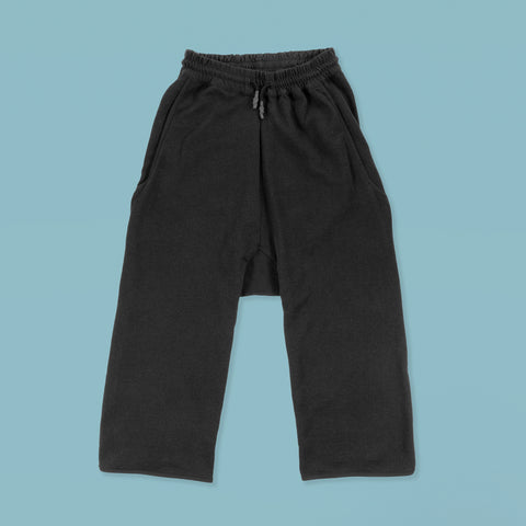 BYBORRE ss19 the hybrid edition long shorts l2 black front