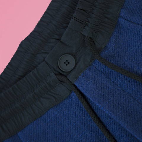 byborre pants d1 aw18 blue detail