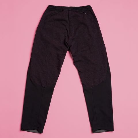 byborre pants d4 aw18 black grape back