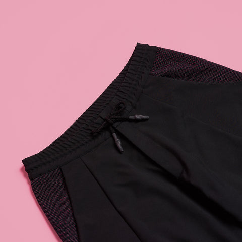 byborre pants d4 aw18 black grape detail