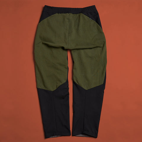 byborre pants d4 aw18 black olive back