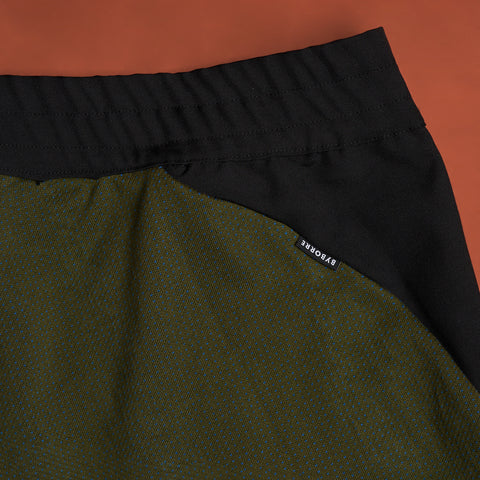 byborre pants d4 aw18 black olive detail
