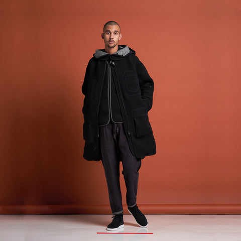 byborre parka p1 aw18 black on body
